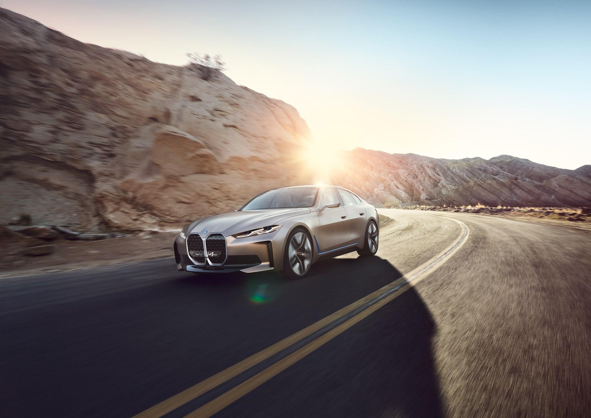 Het geluid van de BMW Concept i4.