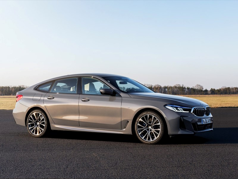 De nieuwe BMW 6 Reeks Gran Turismo