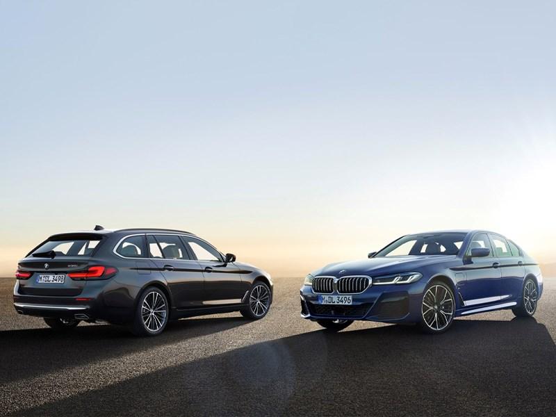 De nieuwe BMW 5 Reeks Berline en Touring