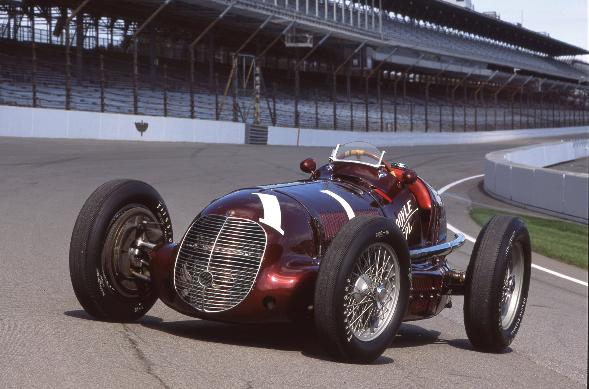 Maserati commemorates the American victories of the 8CTF at the Indianapolis 500