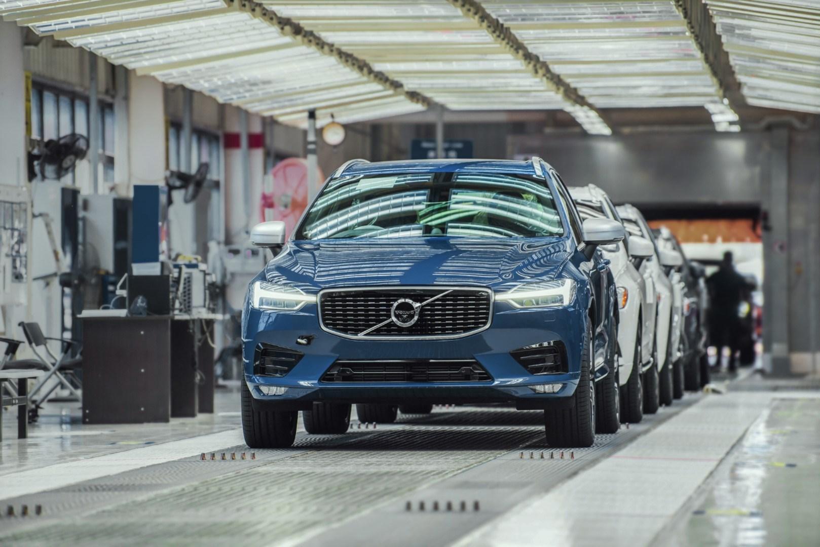 Volvo Cars-autofabriek in Chengdu voor 100% aangedreven met hernieuwbare elektriciteit