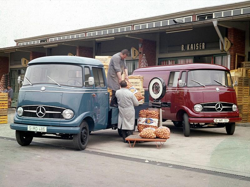 Mercedes-Benz Sprinter – al 25 jaar een pionier in zijn klasse