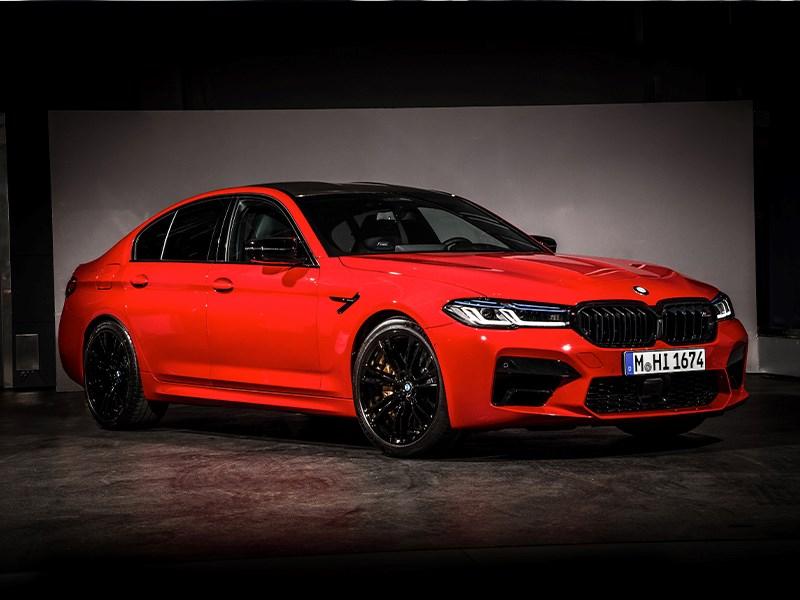 De nieuwe BMW M5 en BMW M5 Competiton