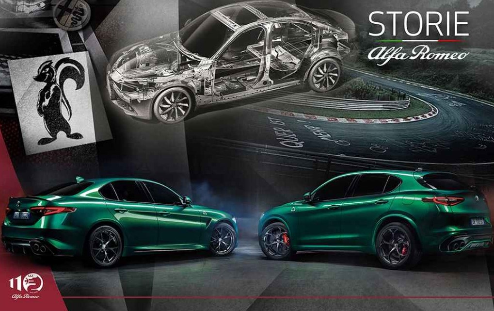 Giulia en Stelvio zijn het toonbeeld van 110 jaar Italiaanse excellentie. - Gent Motors