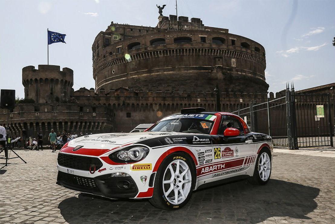 Abarth Rally Cup 2020 : de Abarth 124 rally neemt deel aan de Rally di Roma Capitale - Gent Motors
