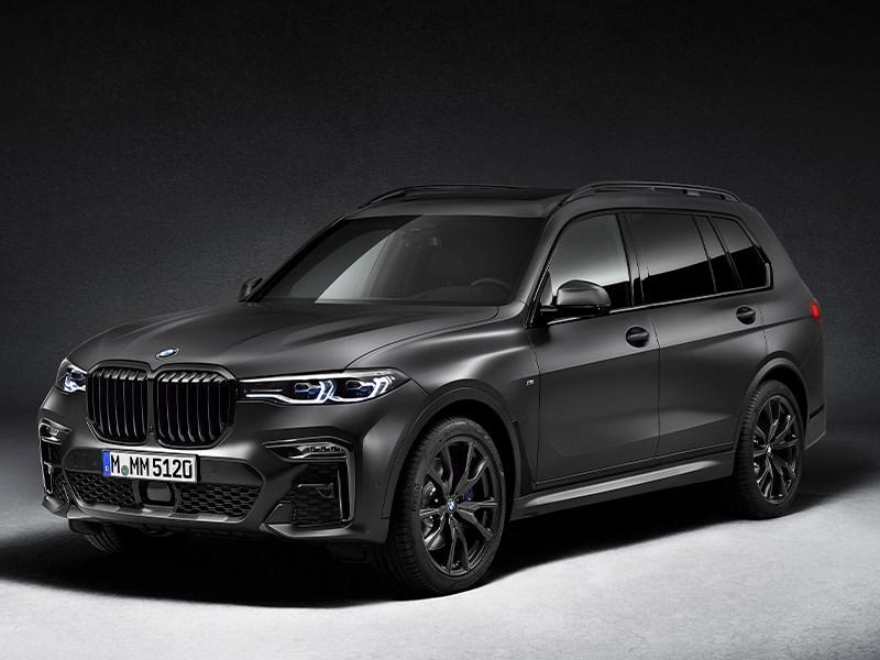 Indrukwekkende uitstraling, exclusieve stijl: de BMW X7 Dark Shadow Edition.