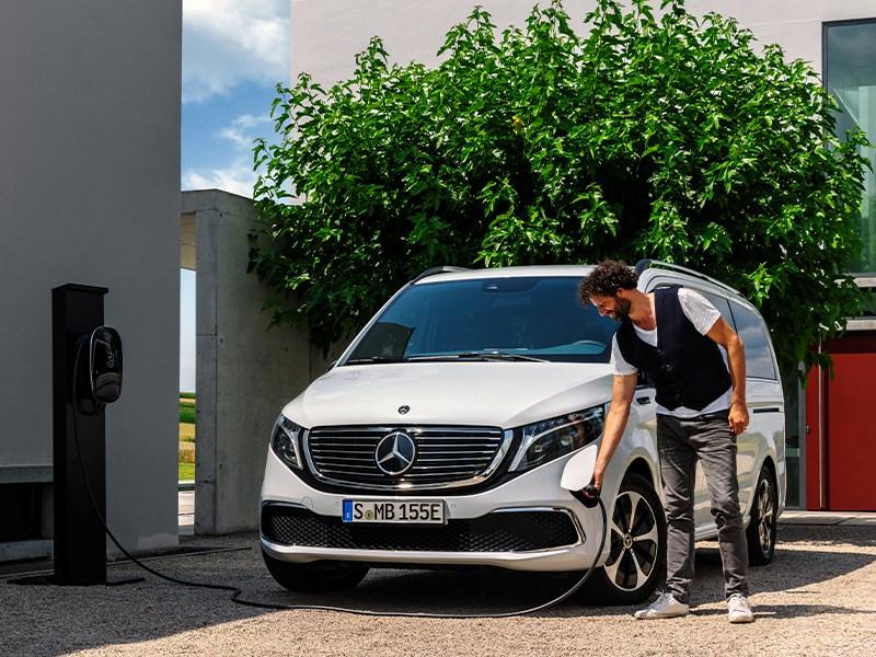 Verkoopstart Mercedes-Benz EQV: elektrische MPV voor gezin, vrije tijd en bedrijf