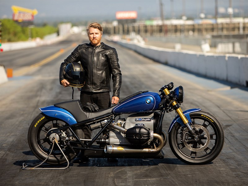 BMW Motorrad presenteert de BMW R 18 Dragster.