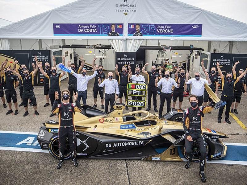 DS Automobiles célèbre son deuxième double titre historique (Pilotes et Équipes) en Formule E