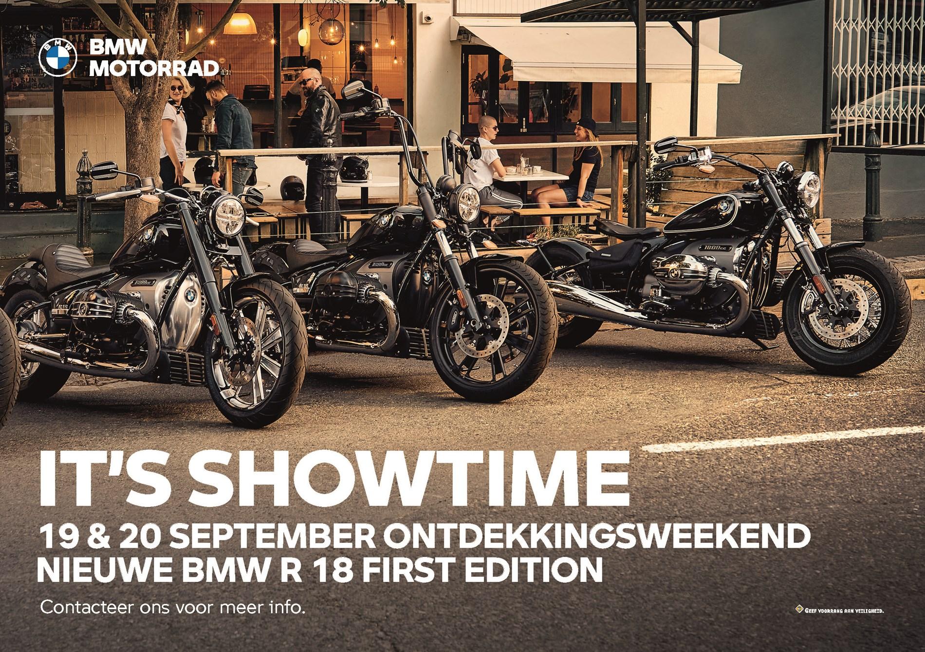 Lanceringsweekend BMW R18 op 19 en 20 september