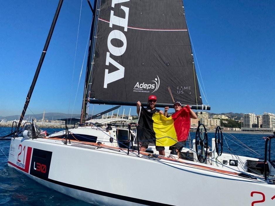 Van Houdt De RED DOLPHINS Europees vicekampioenen offshore zeilen dubbel gemengd