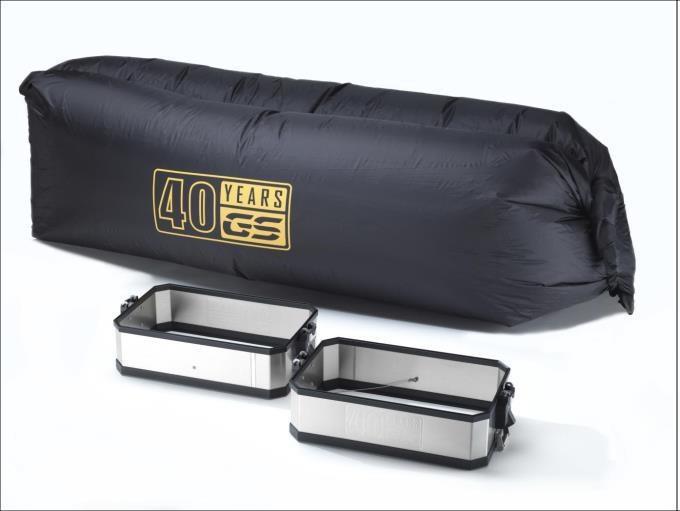 Set volume-uitbreiding aluminium koffer
