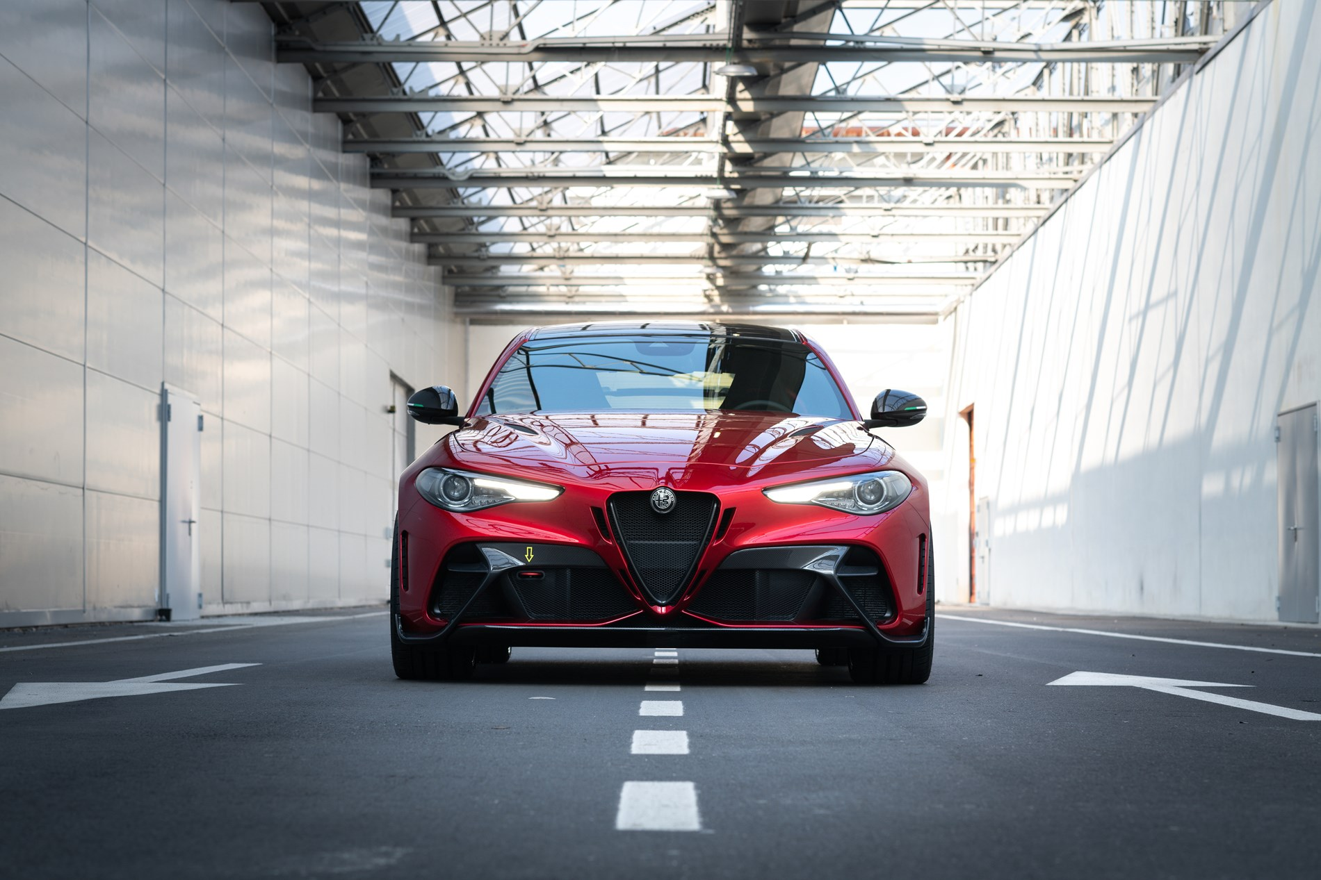 De nieuwe Alfa Romeo Giulia GTA - Gent Motors