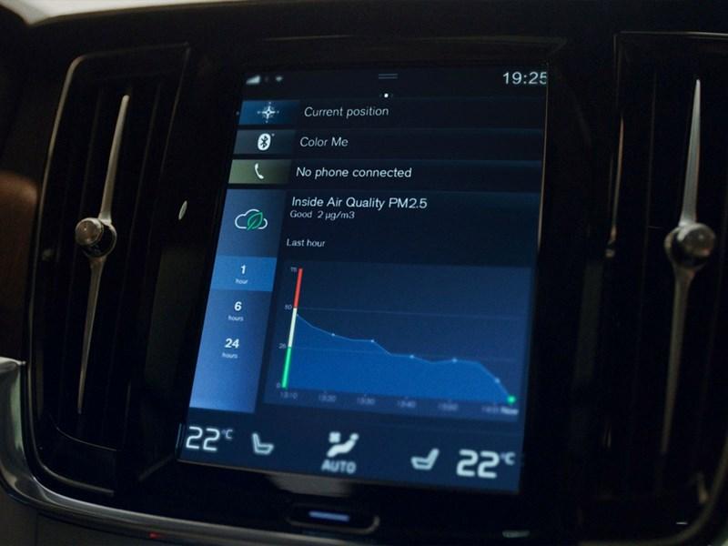 Van Houdt Adem schone lucht in dankzij baanbrekende luchtkwaliteitstechnologie in nieuwe Volvo's