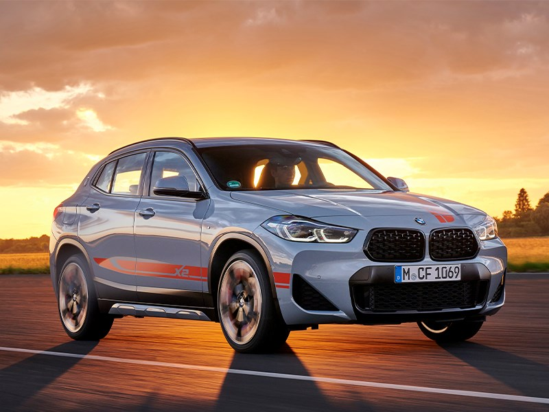 De nieuwe BMW X2 M Mesh Edition.