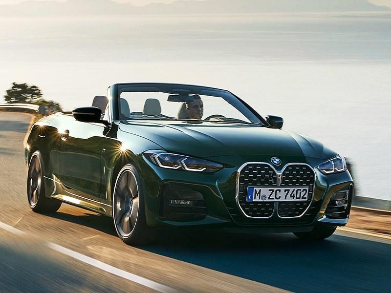 De nieuwe BMW 4 Reeks Cabrio.