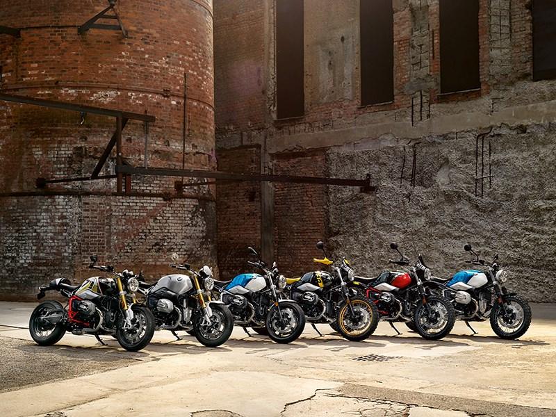 De nieuwe BMW R nineT-modellen.