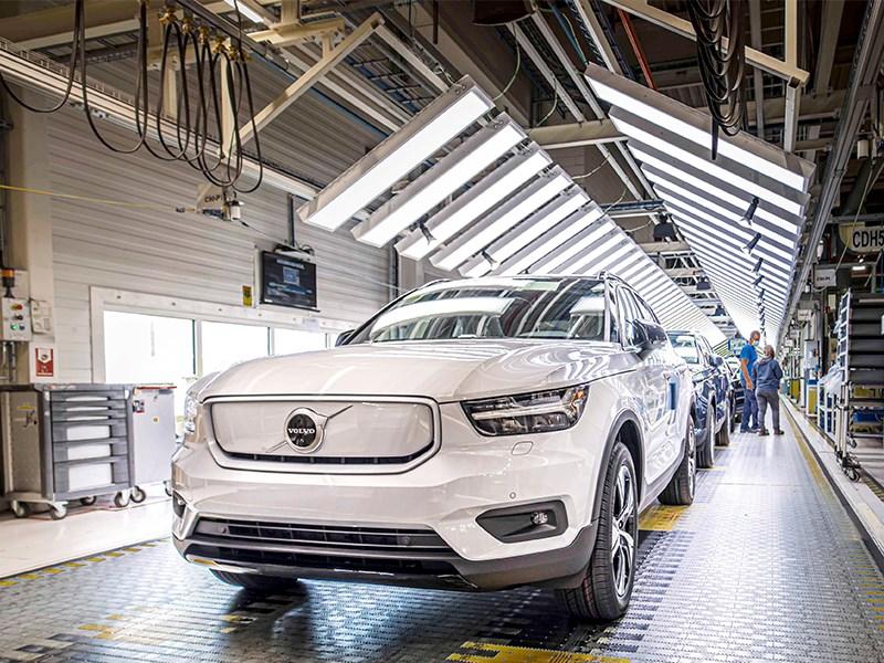 Van Houdt Volvo Car Gent start productie van de volledig elektrische XC40 Recharge