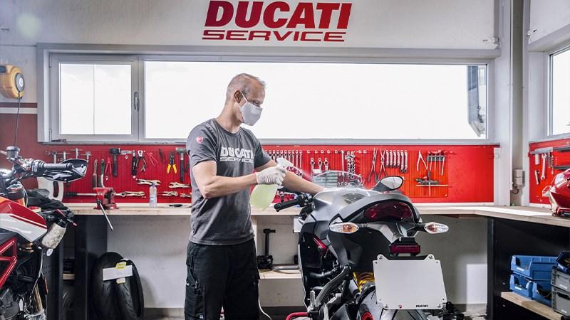Ducati Wintercheck: Geef je Ducati de beste zorgen!