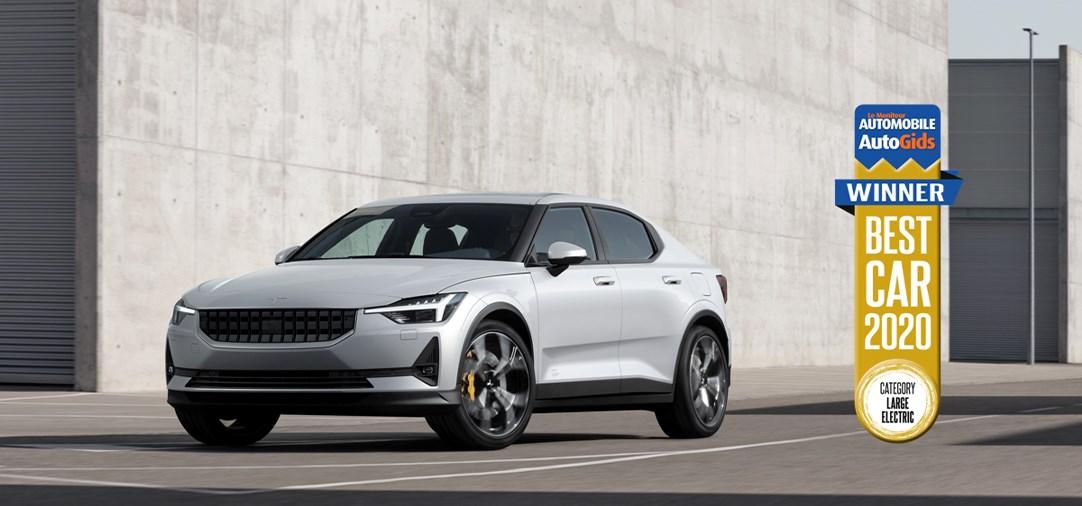 Polestar 2 wint Best Car Award 2020 van AutoGids/Le Moniteur Automobile