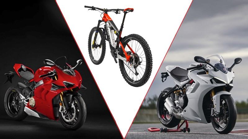Nieuwe SuperSport 950, Panigale V4 SP en Ducati TK-01RR gepresenteerd