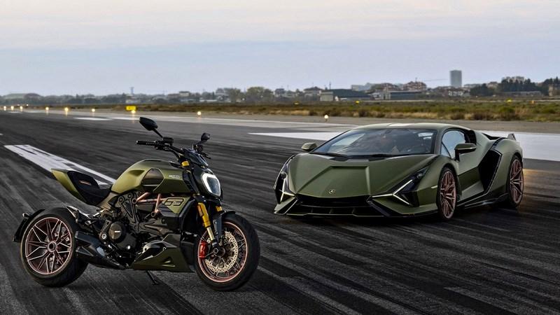 Ducati presenteert de Diavel 1260 Lamborghini