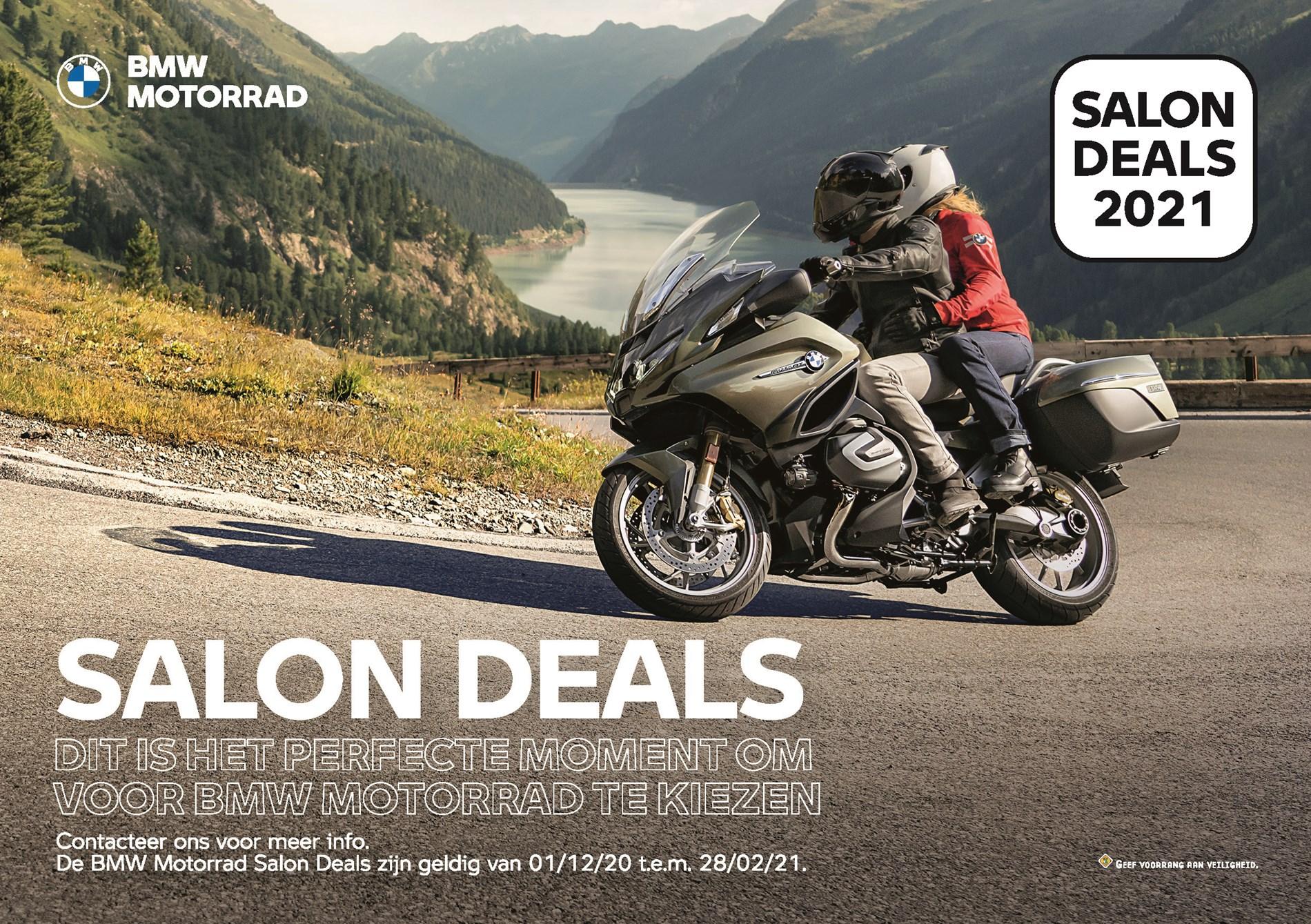 BMW MOTORRAD SALON DEALS.