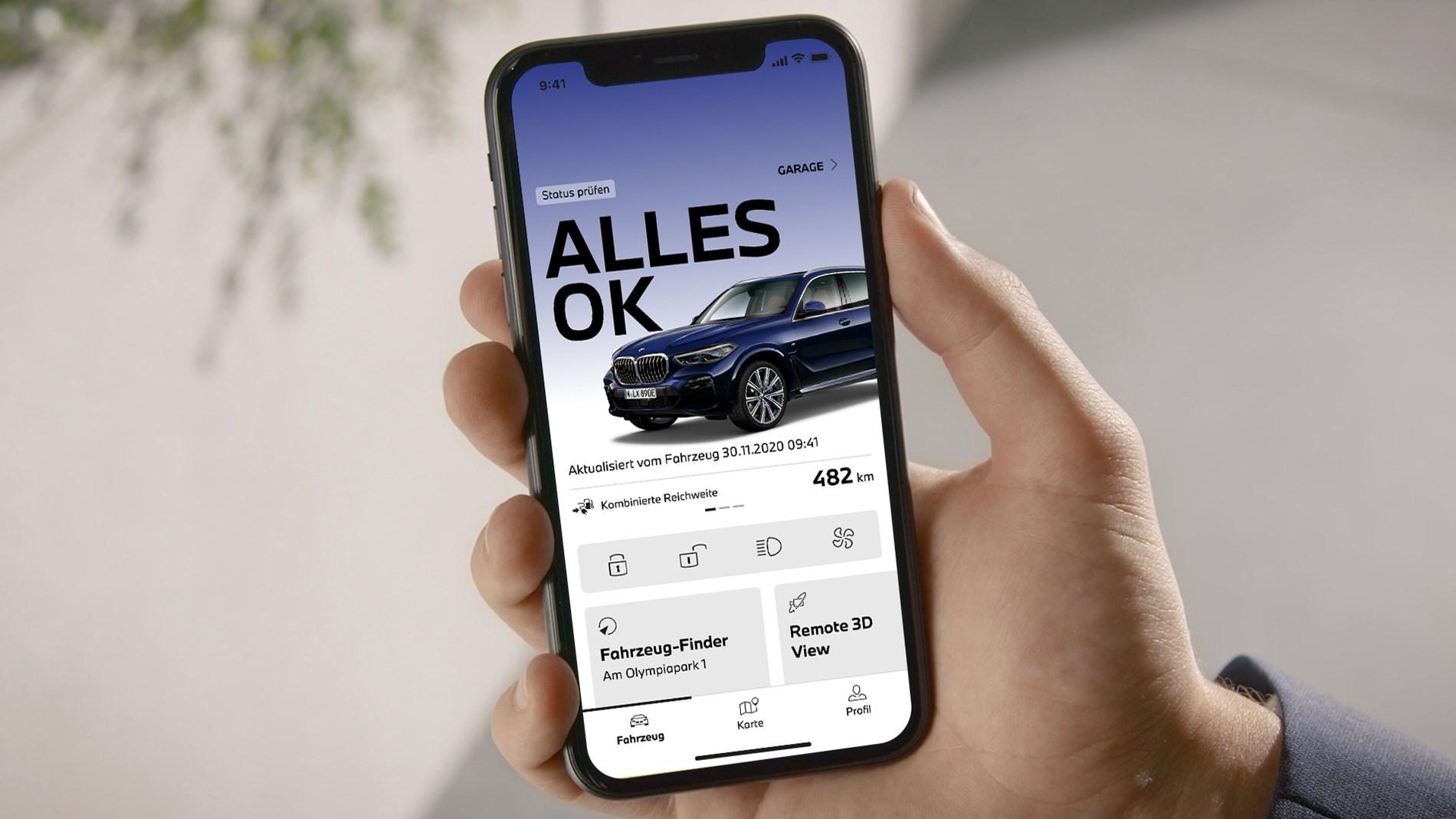 De nieuwste generatie My BMW App nu beschikbaar voor BMW-rijders.