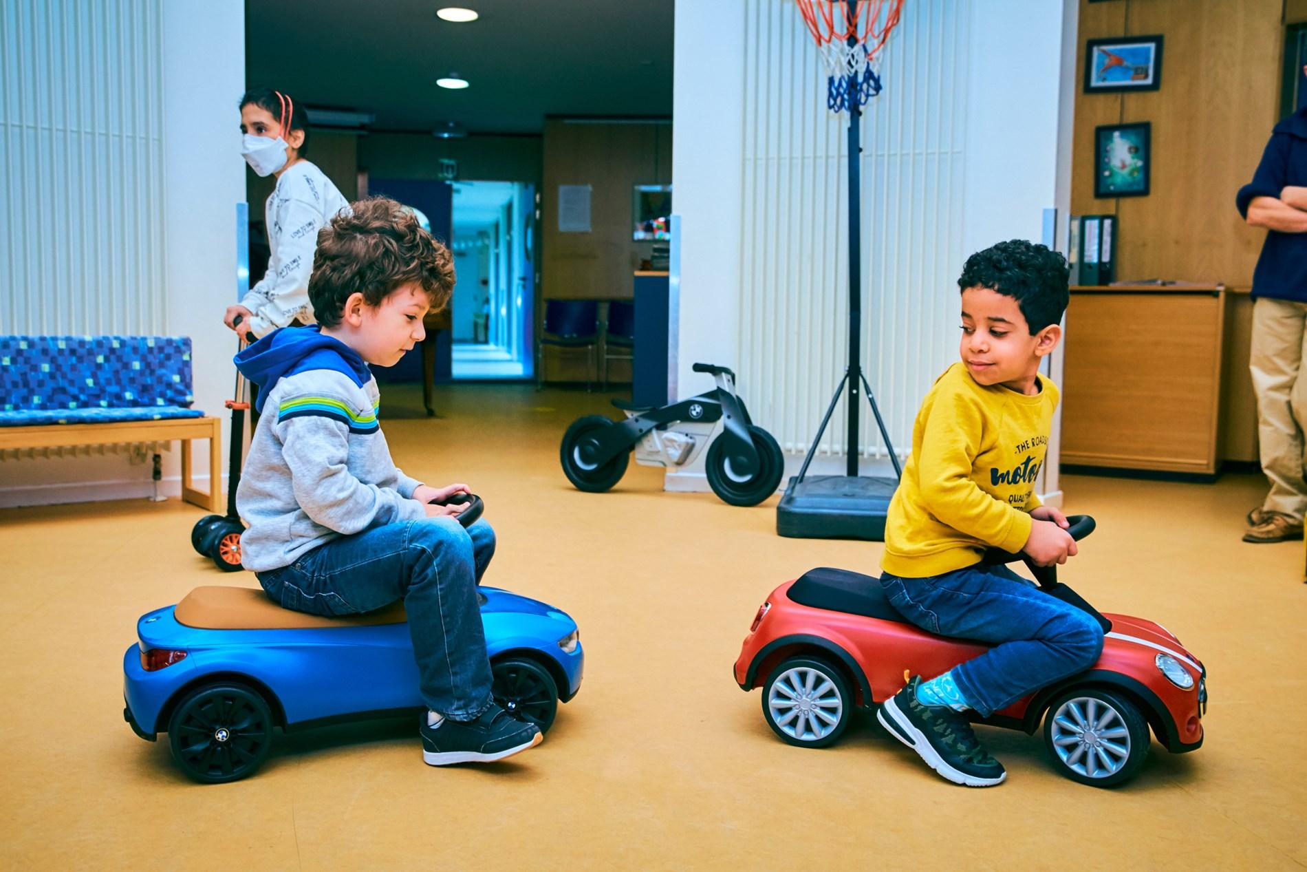Concessiehouders BMW Group in de bres voor zieke kinderen.