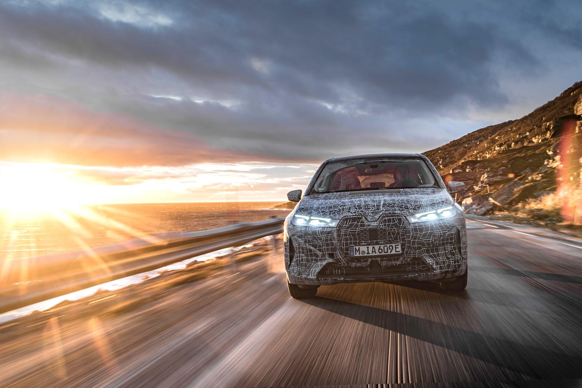 Duurzaamheidstest op de Noordkaap: De BMW iX in zijn laatste wintertest.