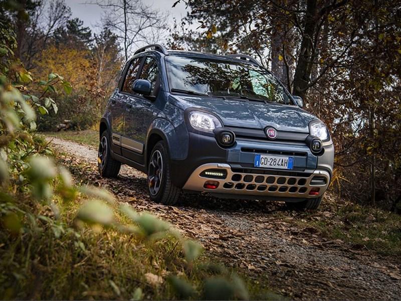 De Fiat Panda Cross verkozen tot beste crossover van het jaar door