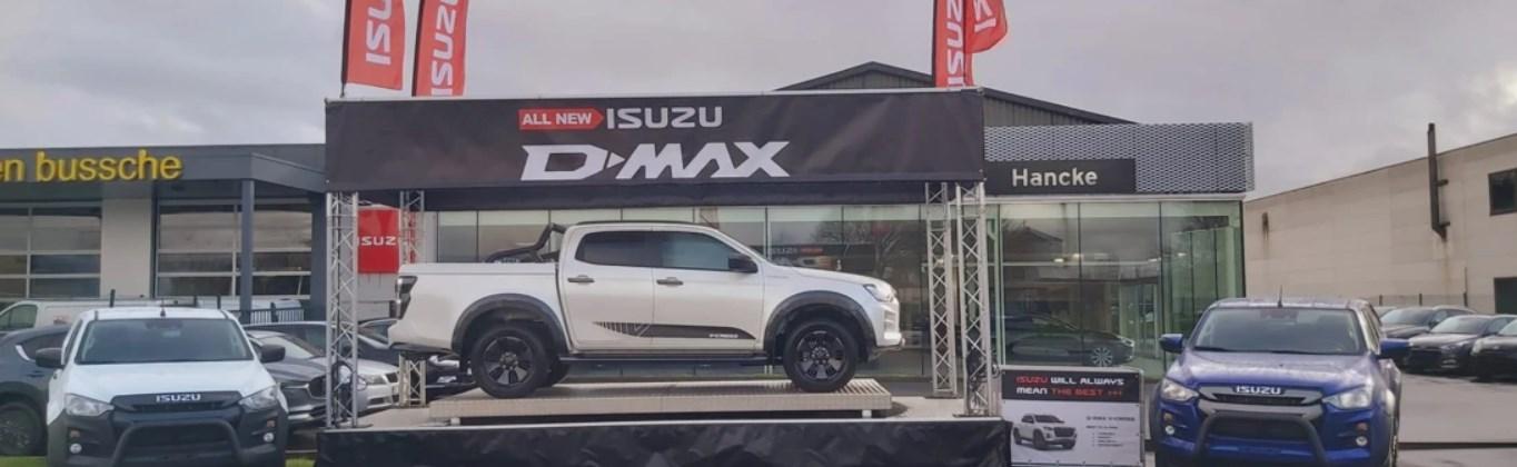 Isuzu D-MAX Roadshow