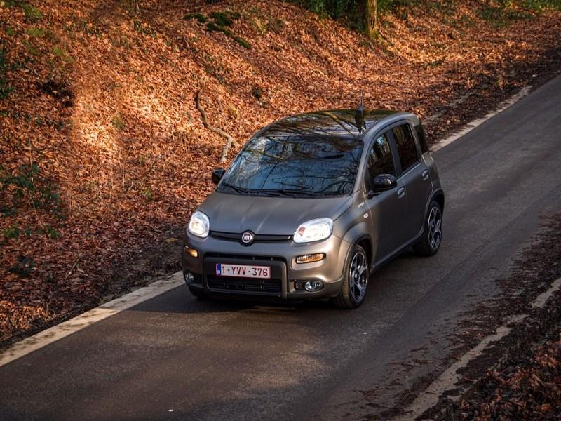De eerste kilometers van de nieuwe Fiat Panda Sport op de Belgische en Luxemburgse wegen.