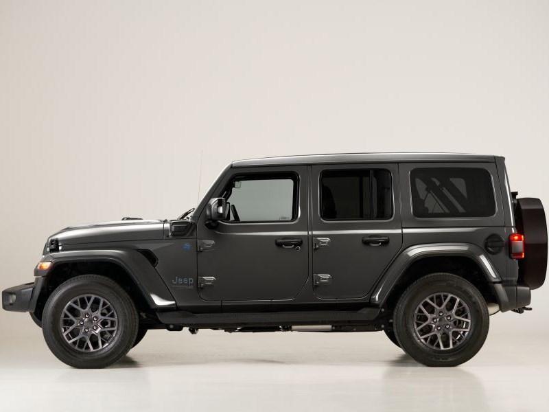 Lancering van de Jeep Wrangler 4xe