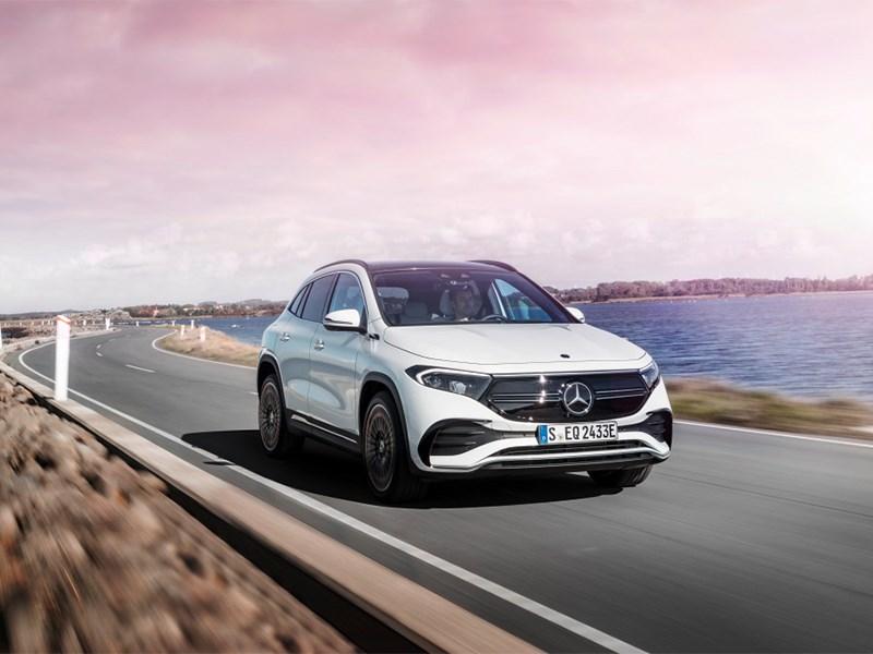 Alle lichten staan op groen voor de compacte elektrische auto van Mercedes-EQ: de EQA kan per direct worden besteld
