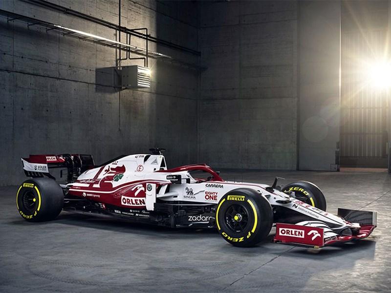 Alfa Romeo Racing Orlen onthult de nieuwe C41