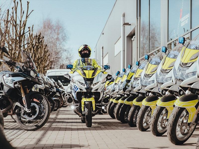 Politiezone Antwerpen kiest voor 22 nieuwe BMW R 1250 RT's