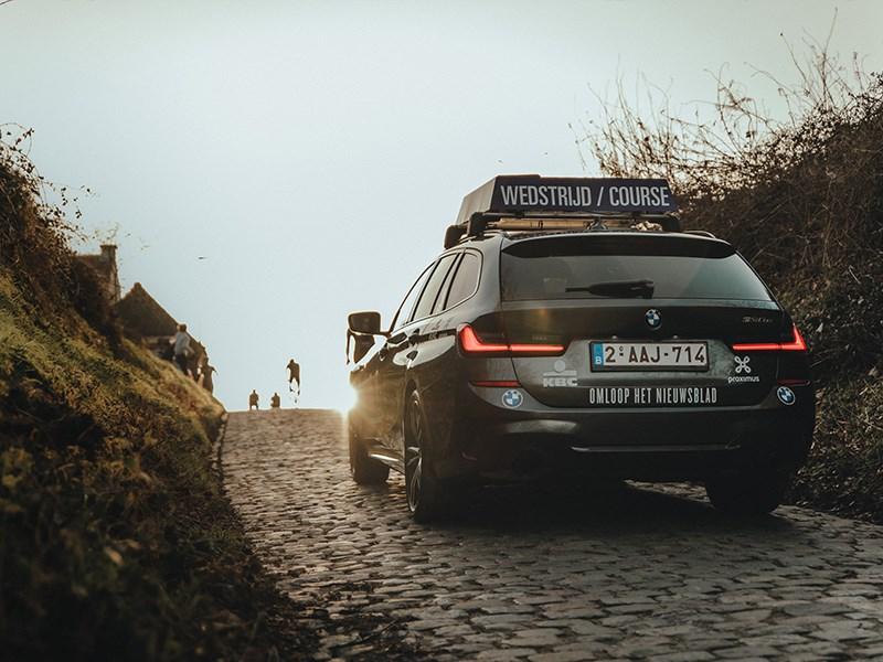 BMW geeft elektrisch startschot van het wielerseizoen