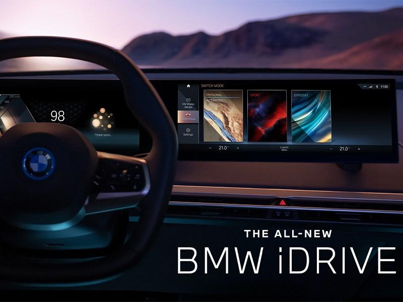 De nieuwe BMW iDrive. Individueel, intelligent en klaar voor de toekomst.
