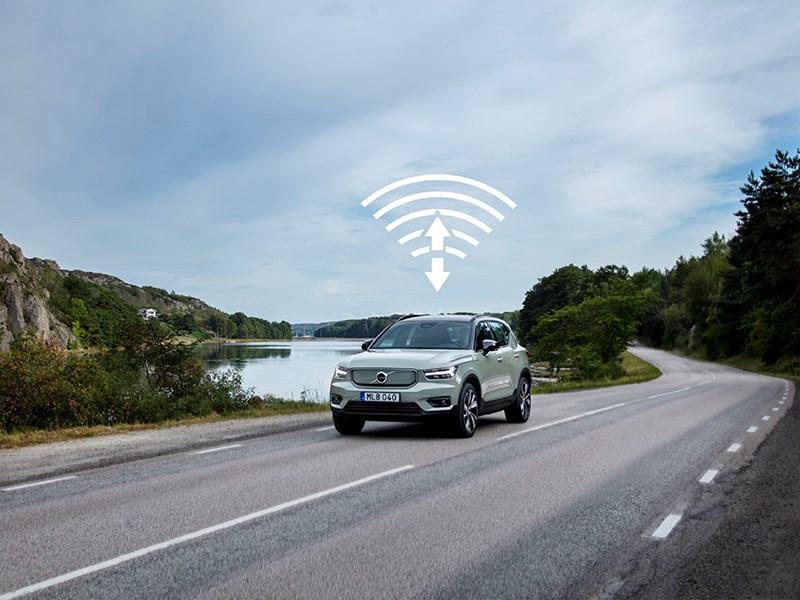 Volvo Cars lanceert zijn eerste remote update op de XC40 Recharge