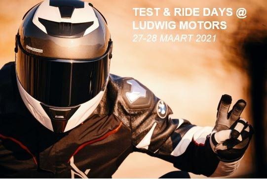Test & Ride Days @ Ludwig Motors 27-28 maart 2021