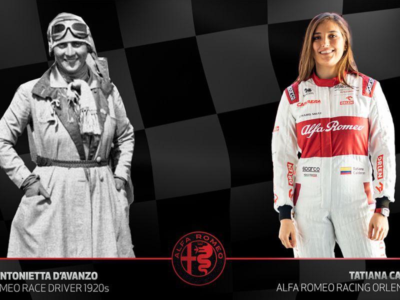 Alfa Romeo brengt hulde aan vrouwelijke racepiloten