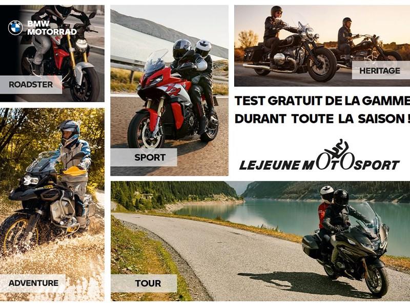 Test Ride de la gamme BMW Motorrad