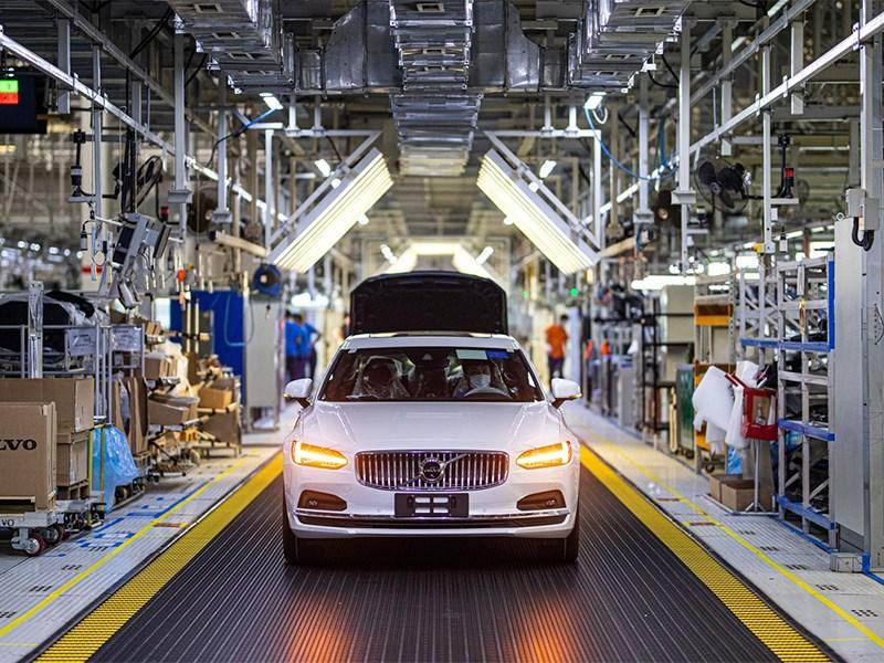 Volvo Cars-autofabriek in Daqing voor 100% aangedreven met klimaatneutrale elektriciteit