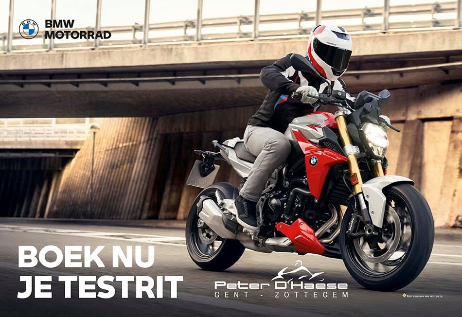 BMW Peter D'Haese: Ride & Test Days
