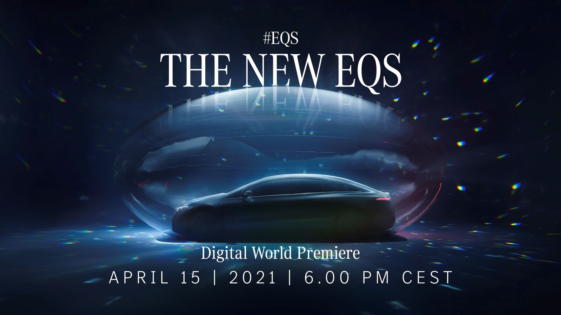 Wereldpremière EQS op Mercedes me media - digitale onthulling van progressieve elektrische berline