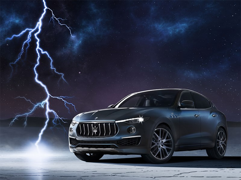 The spark of electrification lights up the Maserati Levante Hybrid