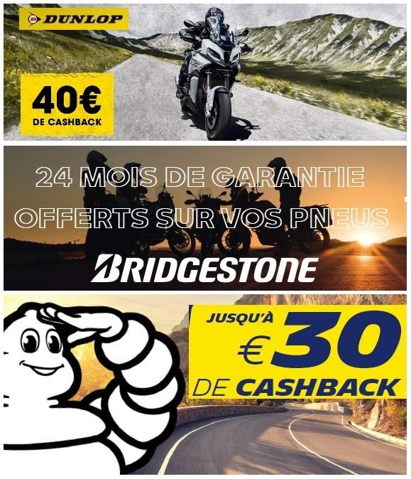 Action Pneus Dunlop, Michelin et Bridgestone