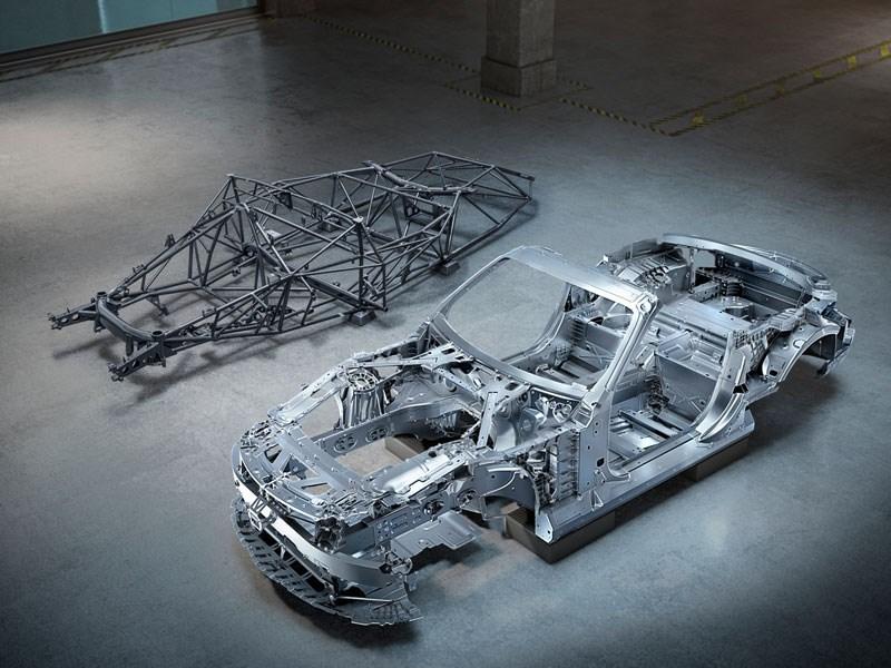 Compleet nieuwe carrosserie voor volgende Mercedes-AMG SL