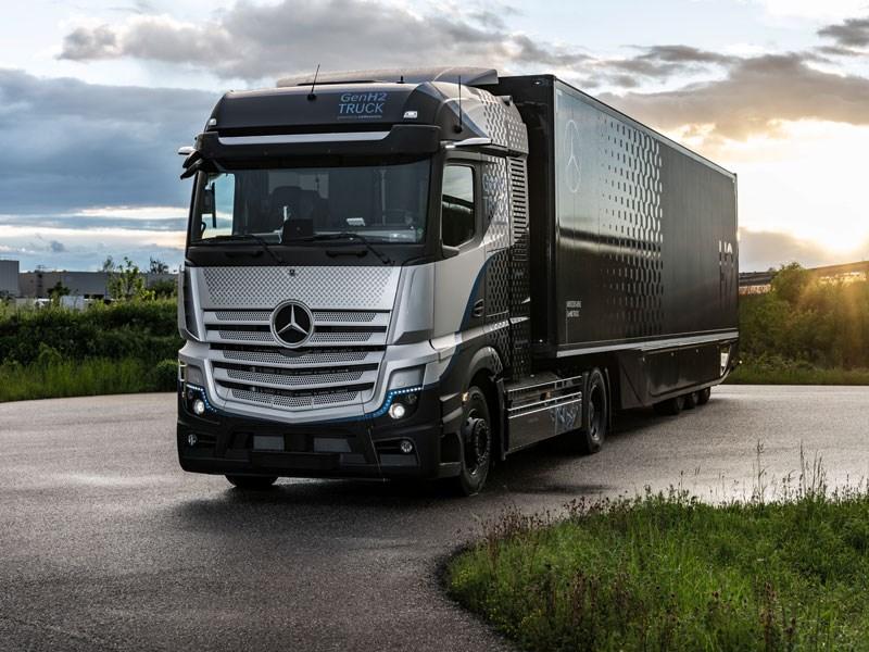 Daimler Trucks begint rigoureuze tests met brandstofcelvrachtwagen
